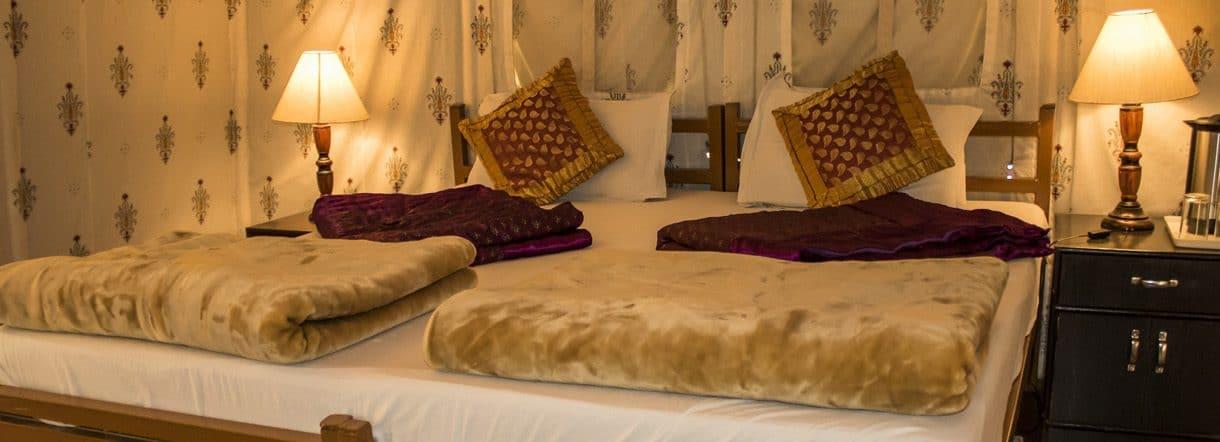 tented resort in ranthambore